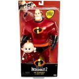 The Incredibles 2 Mr. Incredible and Jack Jack Action Doll Set