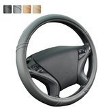 CAR PASS Classical Leather Automotive Universal Steering Wheel Covers