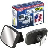 MaxiView Mirrors Metal Lense Mirror
