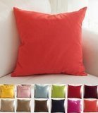 TangDepot Cotton Solid Throw Pillow Cover