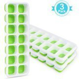 Adoric Easy-Release Silicone Ice Cube Trays