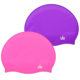 The Friendly Swede Silicone Swim Caps (2 Pack)