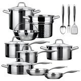 Duxtop Impact-Bonded Technology Cookware set