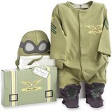 Baby Aspen Big Dreamzzz Baby Pilot Two-Piece Layette Set