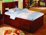 Discovery World Furniture Bookcase Captains Bed