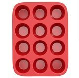 Chef Buddy 12-Cup Silicone Muffin Pan