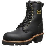"Chippewa 8"" Waterproof Insulated Steel Toe Logger Boot"
