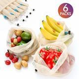 INCOK Reusable Mesh Produce Bags, Set of 6