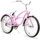 Firmstrong Urban Girl Single Speed Beach Cruiser Bicycle