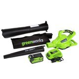 Greenworks 185 mph Variable Speed Cordless Blower Vacuum