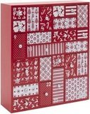 HYGGEHAUS Wooden Advent Calendar with Large Drawers