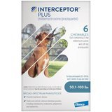 Interceptor Plus Chewable Tablets for Dogs, 50.1-100 Pounds