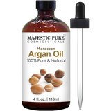 Majestic Pure 100% Pure Moroccan Argan Oil, 4 oz.
