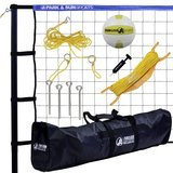 Park & Sun Sports Spectrum Classic Volleyball Set with Case