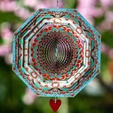 SteadyDoggie Mandala Mystique Wind Spinner