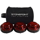 StonePoint LED Lighting Emergency Roadside Beacon LED Lighting Flare Kit