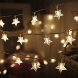 Twinkle Star Christmas Star String Lights
