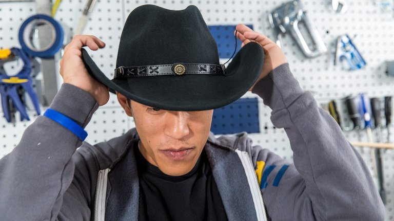 The classic style of the cowboy hat suits everyone 430c5675937
